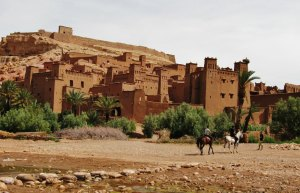 Ait-Benhaddou, the famous Ouarzazate kasbah and UNESCO World Heritage site where Gladiator, Prince of Persia and many other movies have been filmed.