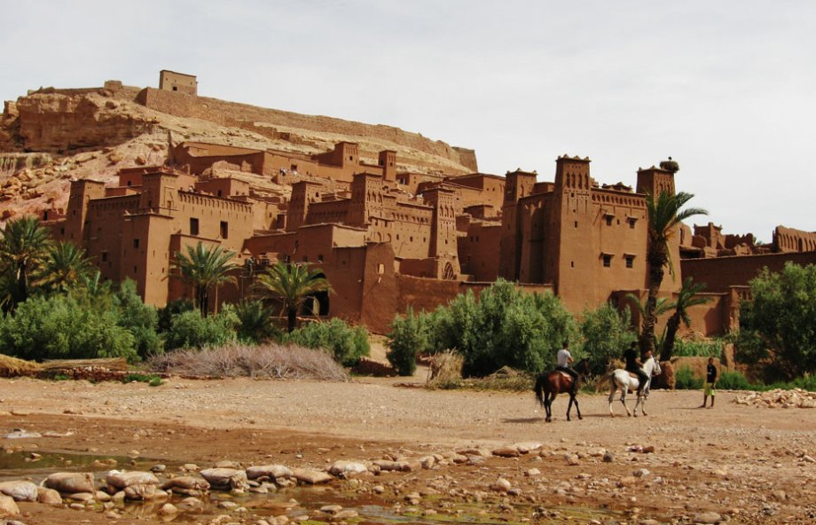 Morocco, Ait Benhaddou, Ouarzazate, kasbah