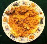 Coucous, ground nut sauce, Sierra Leone, African cuisine, plantanes, bananas, fried plantanes, matoke, Sierra Leone, Sierra Leone food, what to eat in Sierra Leone, travel Sierra Leone, tourism Sierra Leone