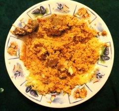 Coucous, ground nut sauce, Sierra Leone, African cuisine