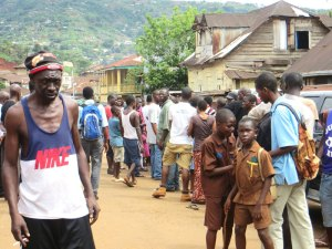 police corruption, Sierra Leone, Freetown, Circular Road, violence, safety,