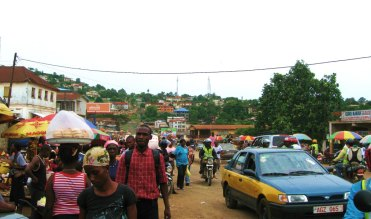 Freetown, market, Sierra Leone, Africa, Juba Hill, West Africa, Elizabeth Around the World,