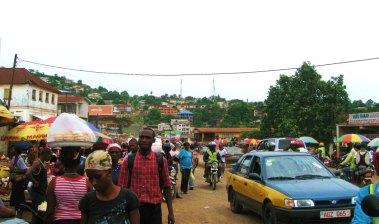 Freetown, market, Sierra Leone, Africa