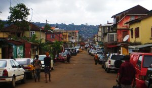 Freetown, Circular Road, Sierra Leone, Independent Radio Network, travel Freetown, public transit, getting around, Freetown,