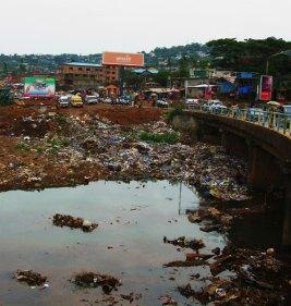 Freetown, Slum, Lumley, Africa