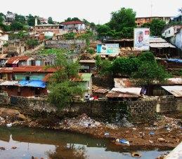 Slum, Sierra Leone, Africa, Juba, Freetown, Lumley