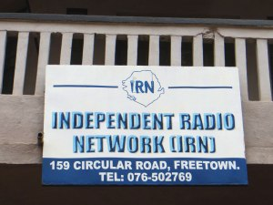 Independent Radio Network, IRN, Sierra Leone, journalism in Sierra Leone, travel Sierra Leone, tourism Sierra Leone