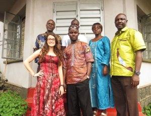 Independent Radio Network, Elizabeth McSheffrey, IRN, Freetown, Talking Drum Studio, journalism Sierra Leone, press freedom