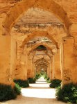 Graners (horse stables) of Moulay Ismail in Meknes.