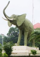 Elephant statue, Guinea, Conakry, things to see in Conakry, tourism Conakry, tourism, travel, Guinea