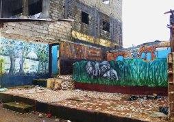 graffiti, Guinea, Conakry, tourism Conakry, tourism Guinea, travel Guinea
