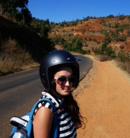 A Life in Transit: Taking a motorcycle through mountains south of Nairobi.