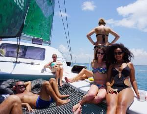 Dar es Salaam, Dar es Salaam tourism, snorkelling, catamaran, Indian Ocean, Elizabeth McSheffrey, Elizabeth Around the World, Tanzaquatic Ltd., travel Tanzania, Tanzania tourism