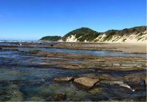 Indian Ocean, Chintsa, Cintsa, Buccaneer's Backpacker, beach., South Africa, Garden Route