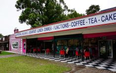 Storms River, Tsitsikamma Forest, Marylin's 60's Diner, South Africa, road trip