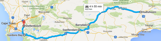 South Africa, road trip, South Africa itinerary, two weeks, Stellenbosch, Swellendam