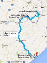 South Africa itinerary, Garden Route, road trip, Lesotho