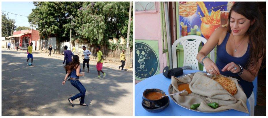 Piazza, Italian colonization, football, Addis Ababa, soccer, Ethiopia