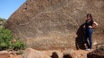 Ethiopia, Aksum, Lioness of Gobodura, Gobodura Hill, Judith Stelae Field