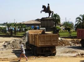 Menelik II Square, Addis Ababa, Ethiopia