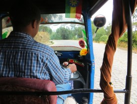 tuk tuk, transportation Africa, Ethiopia, Gondar