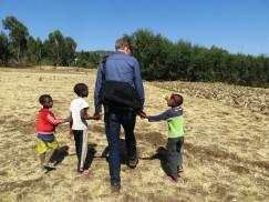 Felasha village, Wolleka, Gondar, Ethiopia, Ethiopian children