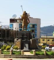 Gondar, Gondar statues, Ethiopia