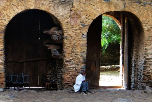 Debre Berhan Selassie Church, Gondar, Ethiopia, tourism Ethiopia, Ethiopia itinerary, things to see in Gondar