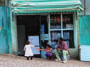 Ethiopia, Ethiopian people, family, Gondar, Ethiopian family