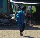 Ethiopia, Aksum, Old Quarter, chickens, Ethiopian Market