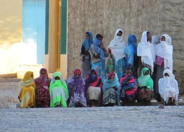 Aksum, Ethiopia, Ethiopian women, Ethiopian Orthodox Christianity