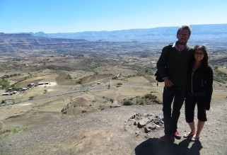 Ian Cox, Elizabeth McSheffrey, Elizabeth Around the World, Ethiopia, Lalibela