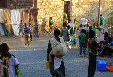 Lalibela, Ethiopia, Ethiopian village