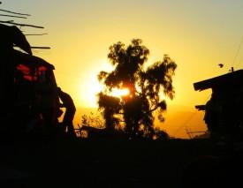Lalibela, sunset, African sunset, Lalibela tourism