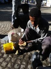 Lalibela, Lalibela tourism, Ethiopia, shoe shine Africa