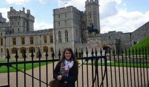 Elizabeth McSheffrey, Elizabeth Around the World, Windsor Castle, Windsor, London, London tourism, Queen Elizabeth II