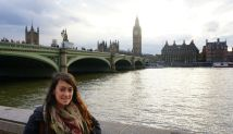 Elizabeth McSheffrey, Elizabeth Around the World, London tourism, River Thames