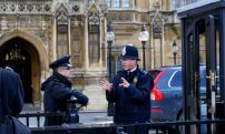 London police, Westminster Palace, downtown London
