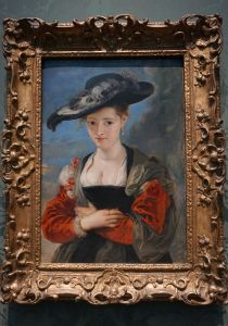 Baldovinetti, Portrait of a Lady, National Art Gallery, London, Trafalgar Square
