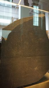 Rosetta Stone, British Museum, London tourism