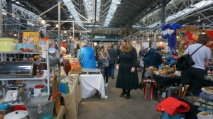 Spitalfields Market, vintage, antiques, London, London shopping, London tourism