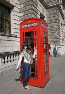 Horse Guards Parade, London, telephone booth, travel