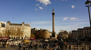 Trafalgar Square, London, tourism, U.K., England, things to do in London, London in a day, London itinerary, Landseer Lions