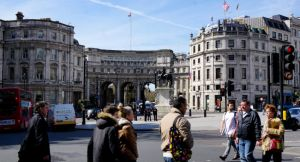 Admiralty Arch, Trafalgar Square, London