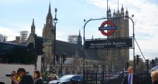 London tube, Westminster Station, Westminster Palace, London tourism