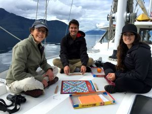 Scrabble, Great Bear Rainforest, Elizabeth McSheffrey, Elizabeth Around the World