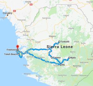 Sierra Leone, Sierra Leone travel, Sierra Leone itinerary, Freetown itinerary, tourism Sierra Leone, Elizabeth Around the World, Elizabeth McSheffrey