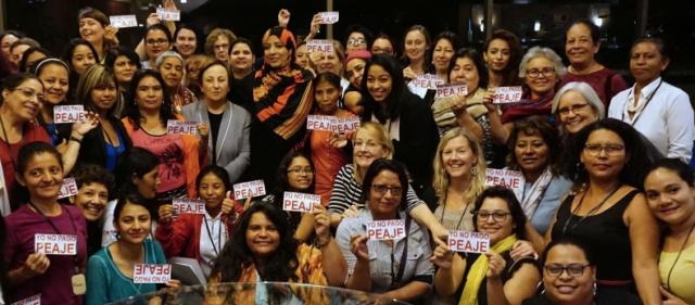 Nobel Women's Initative, Jass MesoAmerica, women's rights, Honduras, Tegucigalpa, Indigenous Rights, land rights, feminism, human rights,