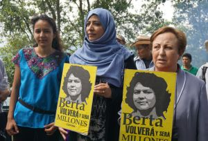 Shirin Ebadi, Tawakkol Karman, Bertha Zúniga, Nobel Women's Initiative, Honduras, COPINH, Berta Caceres