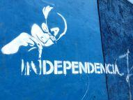 Captain America, Tegucigalpa, Honduras, political resistance, graffiti, Honduras itinerary, One day in Tegucigalpa